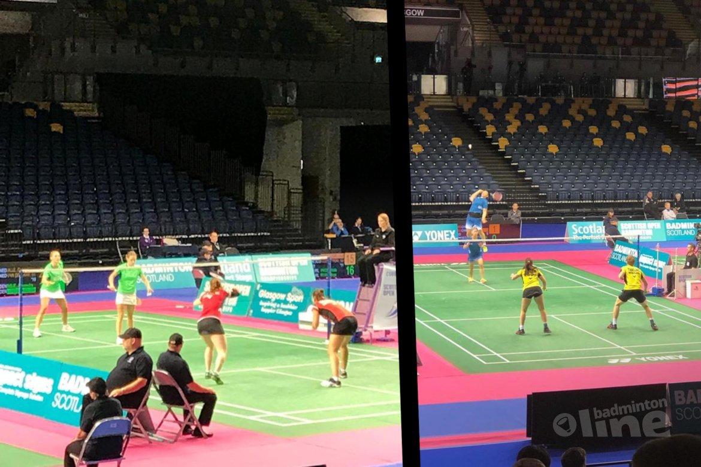 Nederlandse singelaars succesvol in Glasgow bij Scottish Open 2018