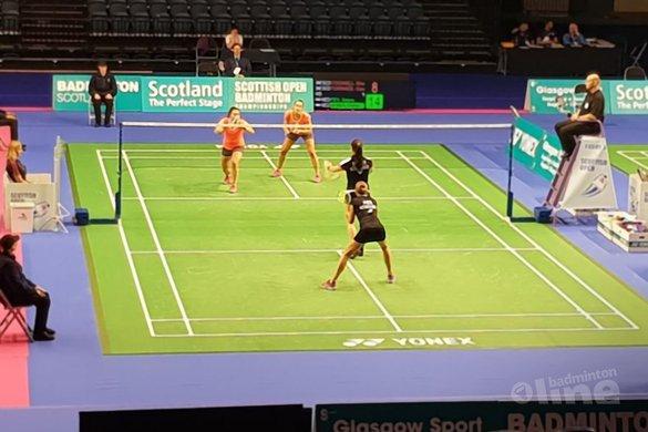 Drie Nederlandse halve finales bij Scottish Open 2018 in Glasgow - Badminton Nederland