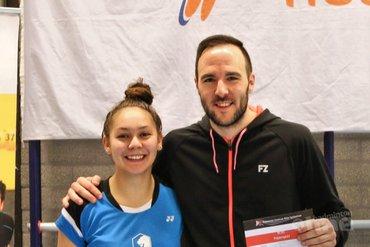 Michiel Kruijt grote badmintonkampioen RSK Zuid-West bij BCRS
