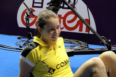Invaller Cheryl Seinen mee naar kwalificatietoernooi EK Gemengde teams in Portugal