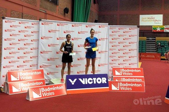 Tweede plaats voor Gayle Mahulette bij de Welsh International 2018 - Badminton Nederland