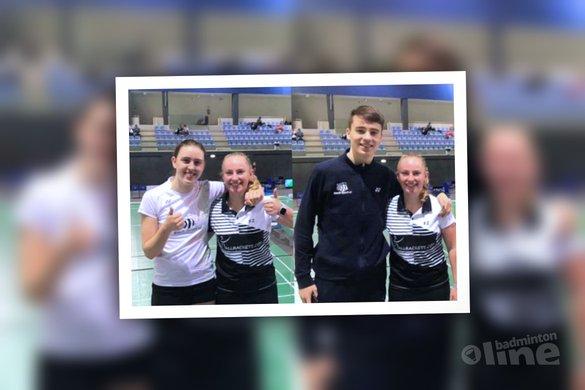 Halve finales eindstation voor jeugd in Portugal - Badminton Nederland