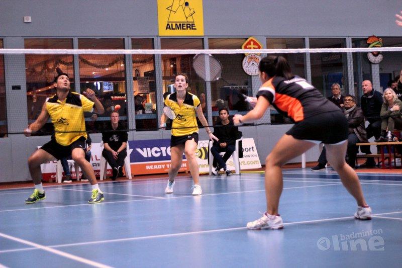 Prima prestatie van gehavend Almere - badmintonenzo.net