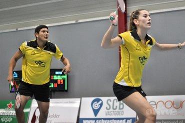 Almere uit tegen DKC in kampioenspoule Nederlandse Badminton Eredivisie