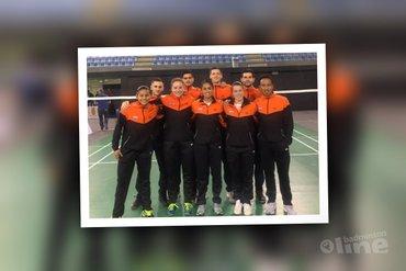 Oranje-badmintonleeuwen pakken volle winst tegen Portugal