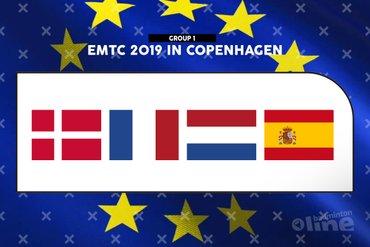 Loting EK Gemengde Teams 2019 bekend