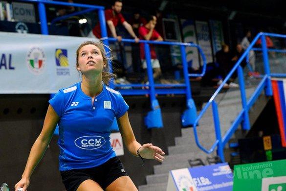 Kwartfinale Milaan eindstation voor badmintonner Soraya de Visch Eijbergen - Danilo Perri
