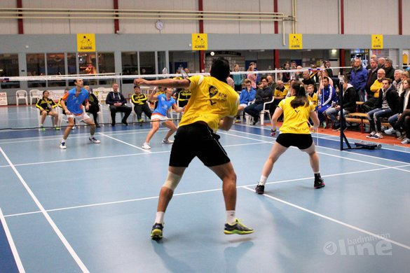 Almere blijft in de race na 7-1 zege op Hoornse - badmintonenzo.net