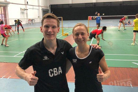 Mark Caljouw voegt zich bij Nederlandse ploeg Malaysia Masters 2019 in Kuala Lumpur - Selena Piek