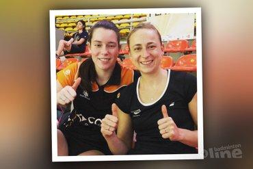Nederlandse badmintonners Selena, Cheryl en Robin verder in Maleisië