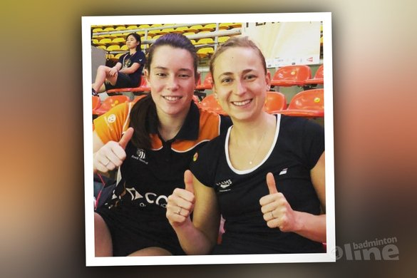 Nederlandse badmintonners Selena, Cheryl en Robin verder in Maleisië - Badminton Nederland