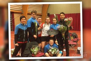 Haagse Drop Shot na 25 jaar terug in de Nederlandse Badminton Eredivisie