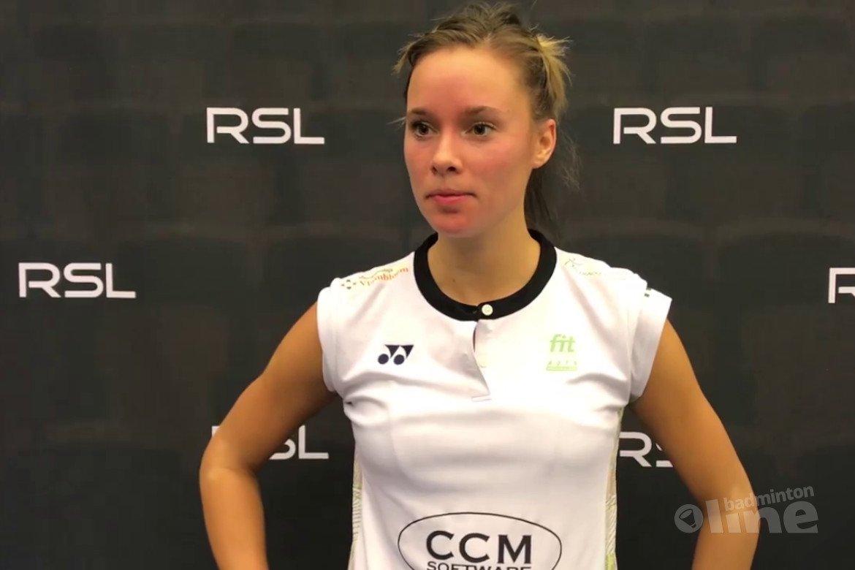 Soraya de Visch Eijbergen en Iris Tabeling stranden in kwartfinales Swedish Open 2019