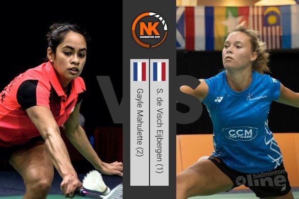 NK Badminton 2019: weerstaat Soraya de Visch Eijbergen de druk? - badmintonline.nl / Alex van Zaanen