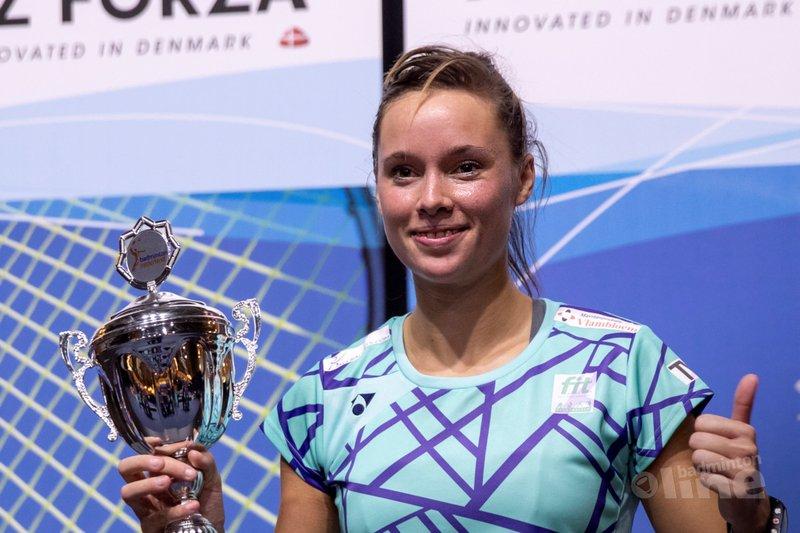 Mark Caljouw en Soraya de Visch Eijbergen pakken titels NK Badminton 2019 - Alex van Zaanen