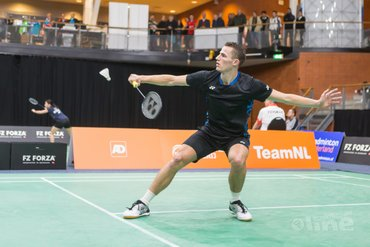 Badmintonner Mark Caljouw in kwartfinale Swiss Open 2019