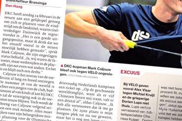 DKC-voorzitter Mario Buijk: Wij wapperen niet met geld