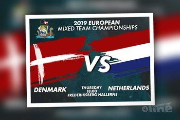 EK Gemengde Teams 2019: Nederland - Denemarken