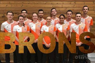 Brons voor Nederland bij EK Gemengde Teams 2019 in Kopenhagen