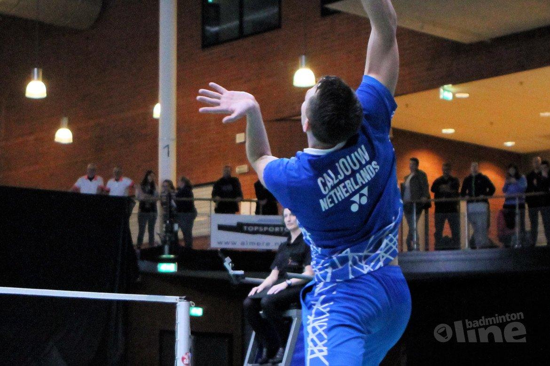 Nederlands Kampioen Mark Caljouw reekshoofd in Wenen