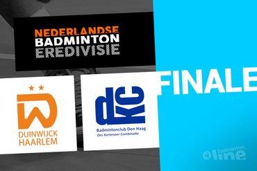 Haagse DKC treft Duinwijck tijdens finale Nederlandse Badminton Eredivisie in Den Bosch