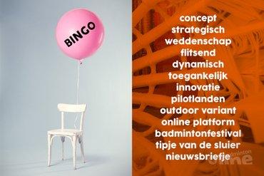 Badmintonteaser van Badminton Nederland: Badminton Festivals en buitenbadminton