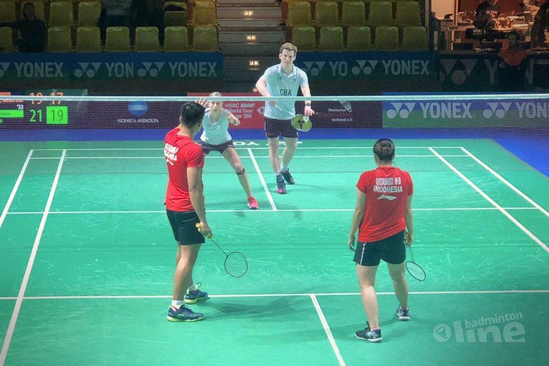 Drie Nederlandse koppels naar tweede ronde German Open 2019