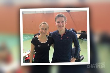 Robin Tabeling en Selena Piek verslaan top 10 spelers in Duitsland