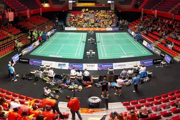 Finale Nederlandse Badminton Eredivisie: Duinwijck - DKC