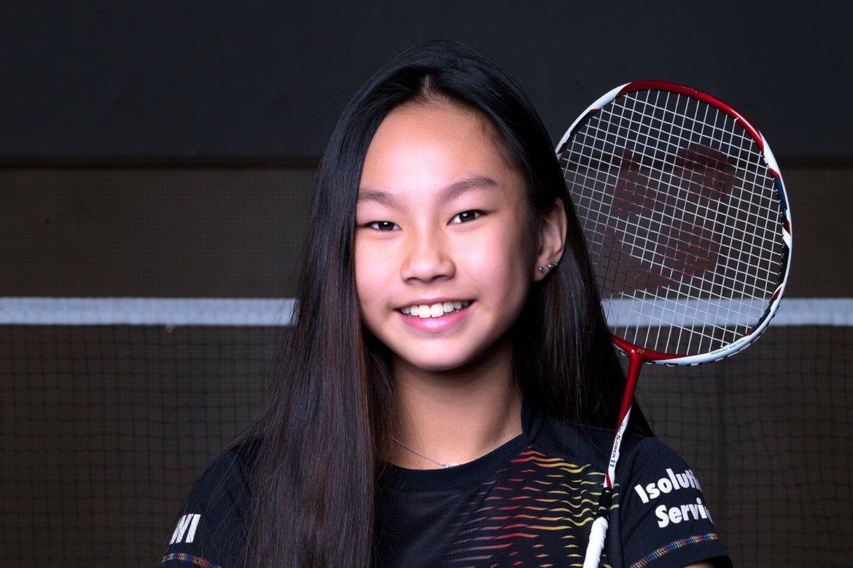 Chloe Li en Noah Haase toernooiwinnaars Junior Master Almere