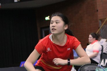Victor Swedish Open 2020 met Amy Tan en Iris Tabeling
