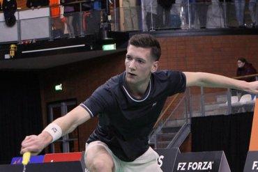Halve finales FZ FORZA Norwegian International eindstation Joran Kweekel