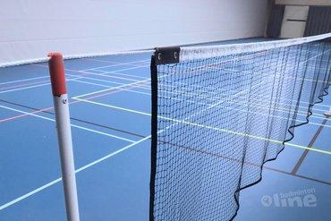 hoogte badmintonnet