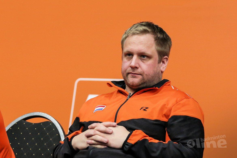 Badmintoncoach Jonas Lyduch ontspringt TOKYO2020-kwalificatiedans