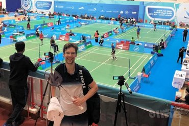 Parabadmintonner Mark Modderman start met zege in Dubai