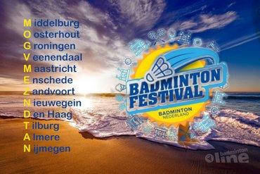Badminton Festival 2019 begint in Middelburg en eindigt in Nijmegen