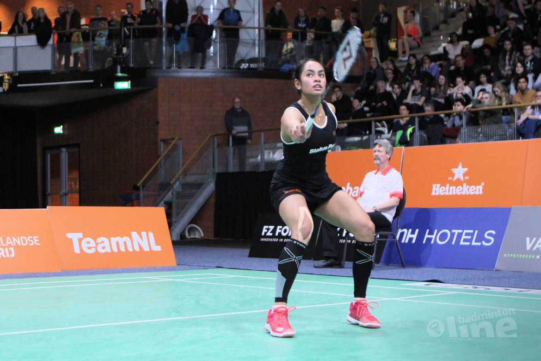 Badmintonners zijn sneller wendbaar na warming-up met een gewichtsvest