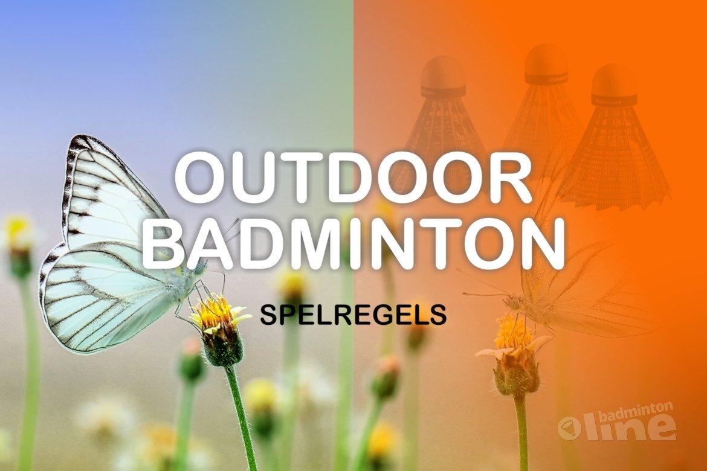 Wat zijn de spelregels van outdoor badminton?
