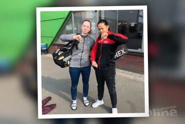 Jille en Tirtosentono tweede bij Dutch International 2019