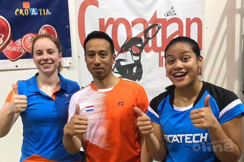 Twee Nederlandse kwartfinales bij Croatian International 2019
