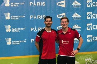 Robin Tabeling in twee finales bij Brazil International Challenge 2019