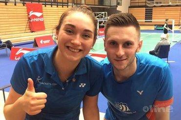 Drie koppels in tweede ronde Li-Ning Denmark Challenge 2019