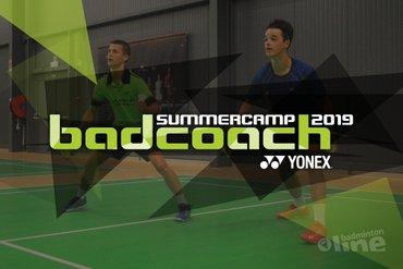 Badcoach Summercamp 2019 met trainers uit Denemarken, Nederland en België