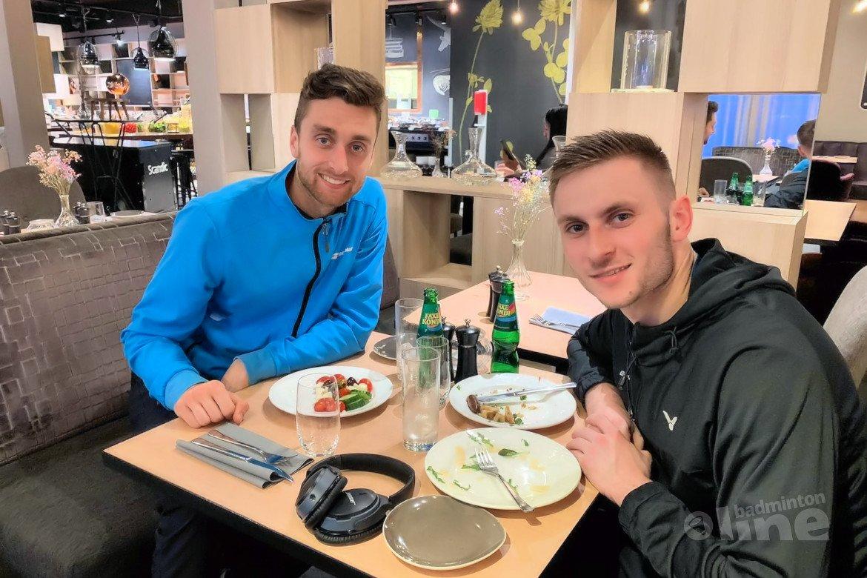 Halve finales Azerbaijan International eindstation voor Jacco Arends en Ruben Jille