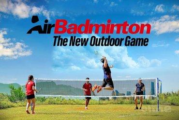 Badmintonbond BWF introduceert outdoor badminton als AirBadminton
