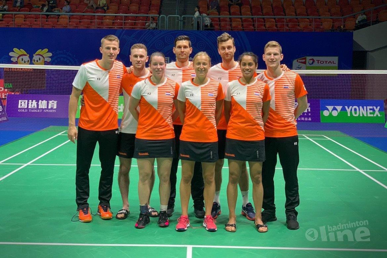 Knappe comeback Nederland bij Sudirman Cup