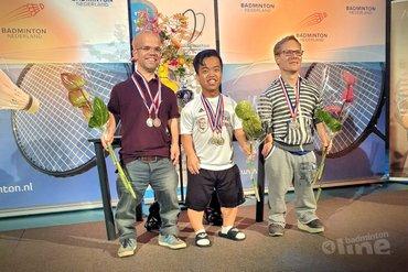 Joey Lie en Ilse van de Burgwal triomferen op NK Parabadminton 2019