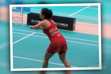 Halve finales Irish Para-badminton International eindstation Megan Hollander