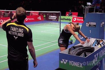 Nederlandse mixkoppels stranden in eerste ronde Swiss Open