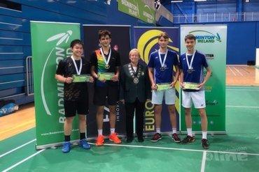 Tweede plaats U19 Irish Open voor Wessel van der Aar en Finn Achthoven